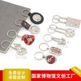廠家訂做金屬鑰匙扣鏈掛件中國風古風古典禮品生產製作