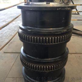 LD300行车轮 平面齿圈 单梁行车轮 端梁LD轮