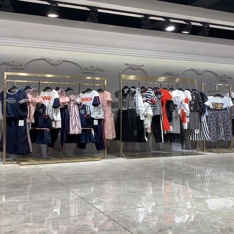 上海摩登女装品牌丽芮/专柜**品牌折扣尾货