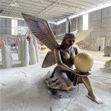 人物玻璃鋼雕塑 歐式女神雕塑花園玻璃鋼仿銅人物雕塑
