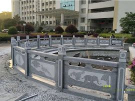广东坡头河道石栏杆护栏