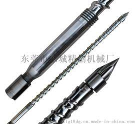 东芝注塑机炮筒螺杆定制,日精注塑机螺杆料管原装进口