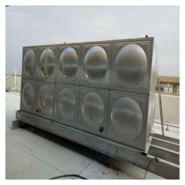 屋顶水箱 消防水箱安装 泽润 玻璃钢水箱
