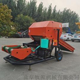 天水加长输送带青贮打捆机生产厂家