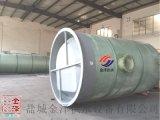 一體化玻璃鋼泵站氣體檢測儀