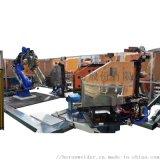 亨龍中頻點焊機器人系統
