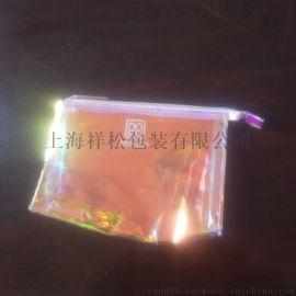 新款时尚PVC镭射焕彩包 欧美化妆包