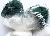 1.5-3米粗絲浮網三層網 捕魚網粘漁網魚網25加粗白絲網浮魚網