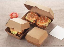 天津瓦楞纸汉堡盒船型盒现货供应
