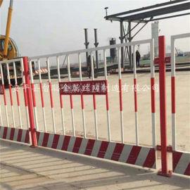 基坑护栏 工地施工临时护栏 基坑防护护栏