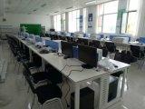职员办公桌四人员工桌屏风卡位隔断4人工位位办公卡座