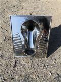 農村廁所改造用不鏽鋼蹲便器