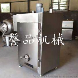 多功能熏风鸡糖熏炉现场试机-熏腊鸡糖熏炉烟熏炉