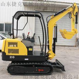 履带式农用小型液压挖掘机 进口配置国产小挖机