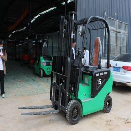 厂家直销 座驾式电动叉车 1.5吨四轮搬运车 支持定制