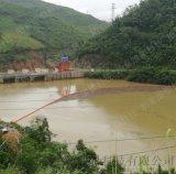 水上浮動平臺建設攔污浮筒