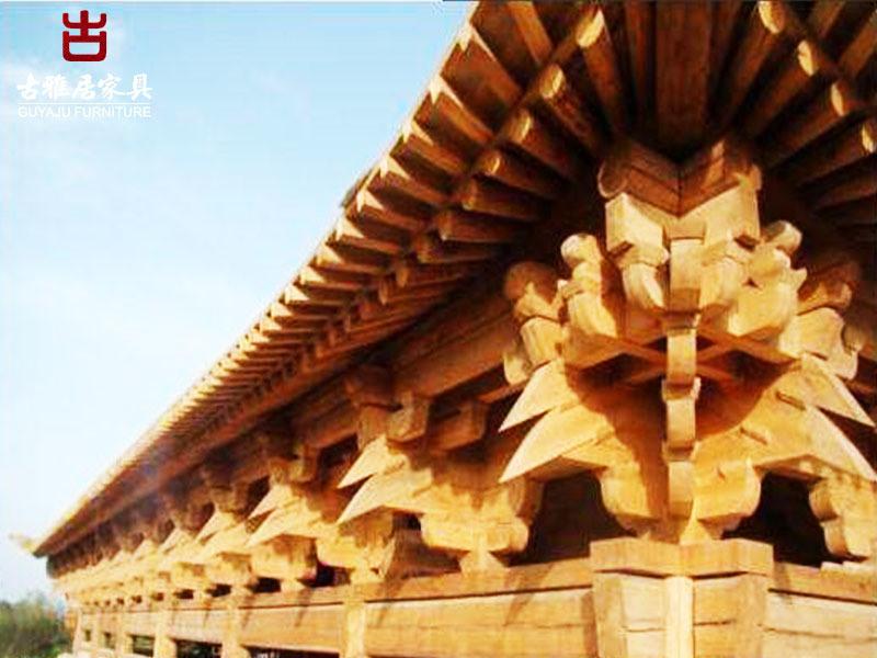 四川撑弓斗拱厂,实木斗拱定制加工