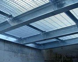 安平钢格板吊顶厂家供应于平台,水厂
