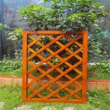 仿木纹铝竹管护栏效果图 竹节仿古铝合金护栏优点