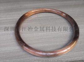 国标T2紫铜线 0.08mm 0.1mm