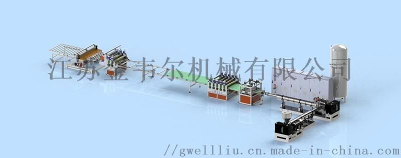 XPS二氧化碳發泡板材生產線