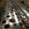 铝单板圆柱构造 铝单板包柱特点 冲孔铝包柱厂家