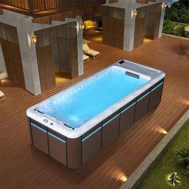 佛山花园冲浪泳池-温泉水疗泳池浴缸