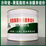 聚氨酯防水涂膜单组份、方便,工期短