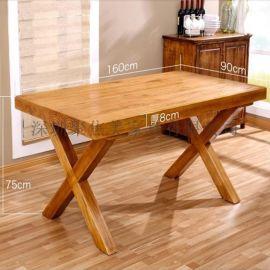 实木餐桌防火板桌子瓷砖餐桌音乐餐厅桌子定制