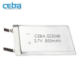 850mAh空气净化器LP523048聚合物电池