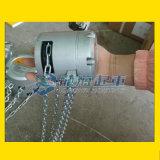 龙升铝合金手拉葫芦, 采用铝合金材质不易生锈