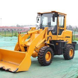 四驱全新小型装载机 农用工程建筑养殖多功能抓木机