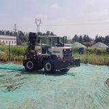 廠家直銷 3噸四驅越野叉車 加裝龍門架叉車
