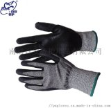 黑色五級防切割磨砂手套