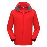 新款防水防寒保暖衝鋒衣帶反光條快遞外賣工服