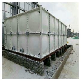 老河口增压水箱 玻璃钢装配式钢板水箱