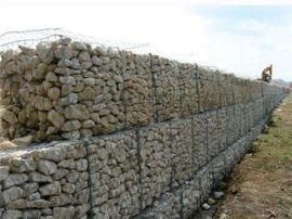 河道石笼网生产厂家直销河道景观包塑石笼护坡