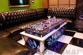 KTV茶几钢化玻璃桌定制量贩简约夜场配套产品