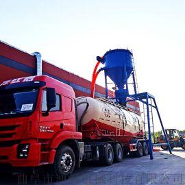 建筑化工粉末风力吸送式装车机水泥粉清库气力