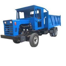 四轮自卸运输车 柴油四驱翻斗车 农用拖拉机