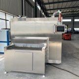 商用连续式隧道速冻机 海鲜食品果蔬低温速冻设备