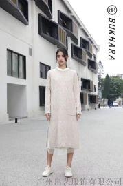 19年冬季新款女装系列【布卡拉】羽绒服大衣外套