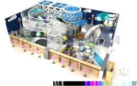 厂家直销个性马卡龙淘气堡儿童乐园定制游乐设备飞翔家