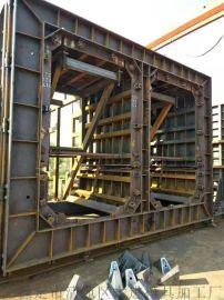 城市管廊钢模具_地下综合管廊模具_箱涵钢模具制造
