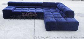 Divano 现代休闲 布艺组合沙发
