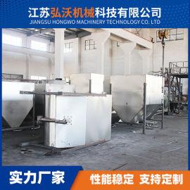 不锈钢储料斗塑料辅机料仓 塑料颗粒储料仓