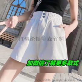 沙河市场市场低价处理牛仔短裤便宜批发