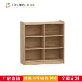 儿童实木书柜,幼儿园家具-绿森堡厂家直销