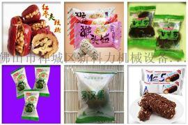 供应 食品牛轧糖自动包装机 独立装糖果枕式包装机