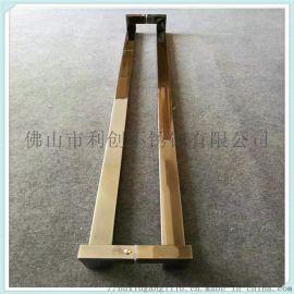 不鏽鋼老式木門拉手,不鏽鋼平門拉手,不鏽鋼雙面拉手